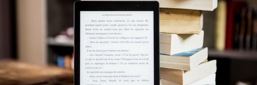 Livros em papel ou na tela? Eis a questão!