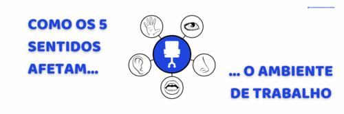 Como os 5 sentidos afetam o ambiente de trabalho