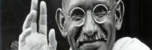 A sabedoria de Gandhi