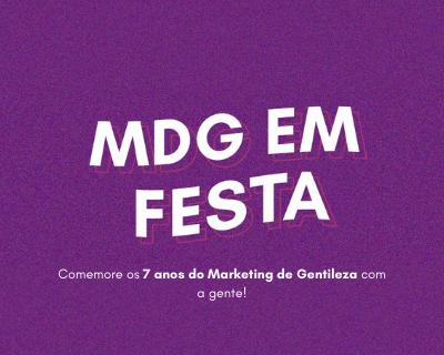 Evento gratuito: 7 anos do Marketing de Gentileza