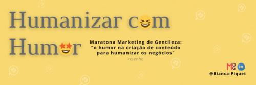 Humanizar com Humor